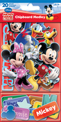 Mickey & Friends - Sandylion Disney Chipboard Medley
