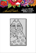 Cat Love - Stampendous Laurel Burch Cling Stamp