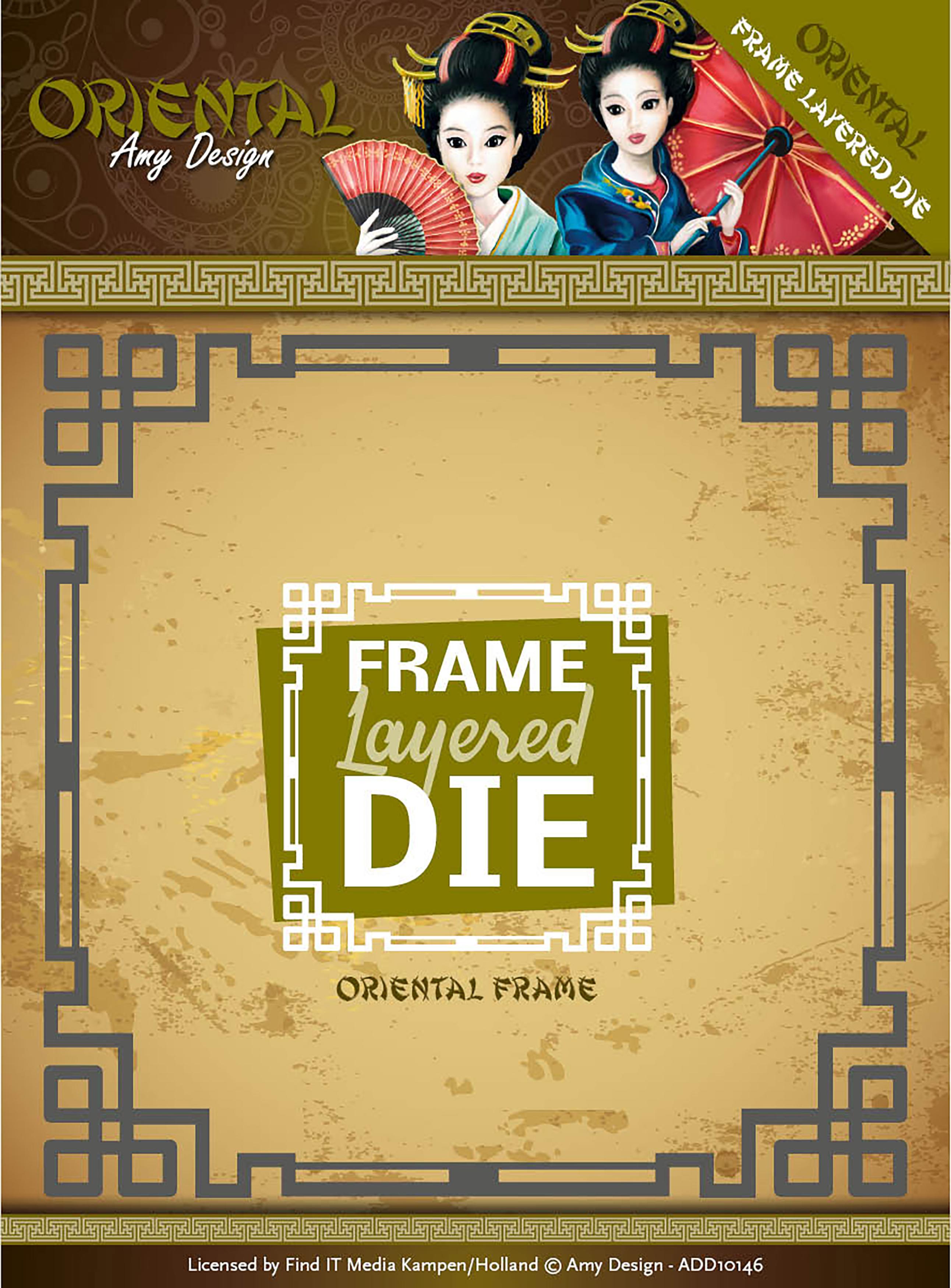 Layered Frames - Find It Trading Amy Design Oriental Die