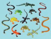 Reptiles - Party Favors 12/Pkg