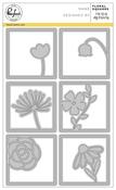 Floral Square - Pinkfresh Studio Die
