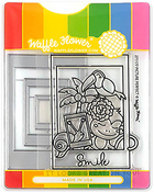 Picture Perfect & InstaLove - Waffle Flower Stamp & Die Set