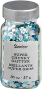 Peacock Blue - Darice Super Chunky Glitter .95oz