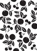 "Cherries - Embossing Folder 4.25""X5.75"""