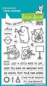 Critter Concert Lawn Fawn Clear Stamps