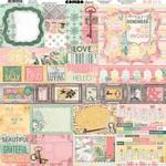Sunshine Bliss Combo Stickers - Bo Bunny