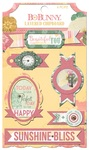 Sunshine Bliss Layered Chipboard - Bo Bunny