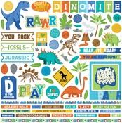 Jurassic Element Sticker - Photoplay