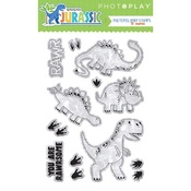 Jurassic Clear Stamps - Photoplay
