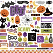 Trick or Treat Element Sticker Sheet - Photoplay