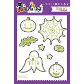 Trick or Treat Etched Metal Dies - Photoplay