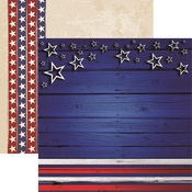 Stars And Stripes Paper - American Vintage 2 - Reminisce