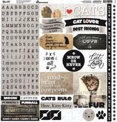 Love My Cat Alpha sticker - Reminisce - PRE ORDER