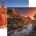Zion Paper - National Parks - Reminisce