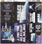 Space Wars 2 Poster Stickers - Reminisce - PRE ORDER