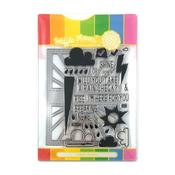 Rain Or Shine Waffle Flower Stamp & Die Set - PRE ORDER