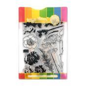 Carnations Waffle Flower Stamp & Die Set - PRE ORDER