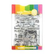 Salty Kisses Waffle Flower Stamp & Die Set - PRE ORDER