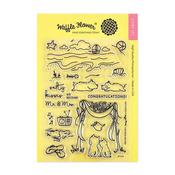 Salty Kisses Waffle Flower Crafts Clear Stamp - PRE ORDER