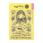 Always Waffle Flower Crafts Clear Stamp