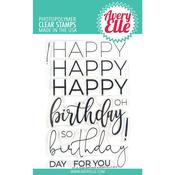 Big Birthday Avery Elle Clear Stamp Set