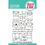Peek-A-Boo Pals Avery Elle Clear Stamp Set