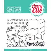 Sweetest Avery Elle Clear Stamp Set