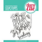 Fuchsia Avery Elle Clear Stamp Set