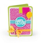 Rounded Circle Drop-Ins Card - Sizzix Framelits Dies - PRE ORDER