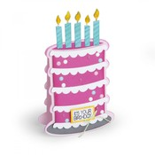 Cake Fold-Its Sizzix Framelits Dies