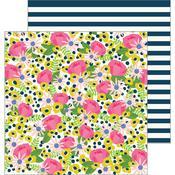 Flower Market Paper - My Bright Life - Pebbles