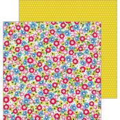 Field Of Flowers Paper - My Bright Life - Pebbles