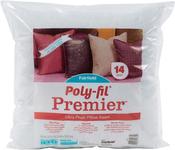 "14""X14"" FOB: MI - Fairfield Poly-Fil Premier Accent Pillow Insert"