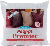 "16""X16"" FOB: MI - Fairfield Poly-Fil Premier Accent Pillow Insert"