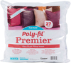 27 X27  FOB: MI - Fairfield Poly-Fil Premier Euro Sham Pillow Insert Fairfield-Poly-Fil Premier Ultra Plush Pillow Inserts. These pillow inserts have the look and feel of down and are a favorite among crafters and home designers. They are filled with 100% Ultra Plush polyester fiberfill and feature a cotton/polyester, high quality cover. They are wonderful for a variety of uses around your home. Perfect for adding a splash of color or a cozy spot when placed in the corners of your couch. The 27x27 inch Euro Sham pillow inserts are perfect for any room in the house<BR>- bedroom, guest bedroom, kid's room, RV, and they make great floor pillows or pet beds. Whether you use them together or apart they are the most versatile pillows you'll find. Made in USA.