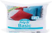 "12""X16"" FOB: MI - Fairfield Poly-Fil Basic Pillow Insert 2/Pkg"