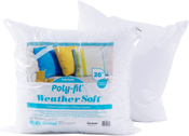 """20""""X20"""" FOB: MI - Fairfield Poly-Fil Weather Soft Indoor/Outdoor Pillow Insert"""