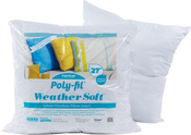 """27""""x27"""" FOB: MI - Fairfield Poly-Fil Weather Soft Indoor/Outdoor Pillow Insert"""