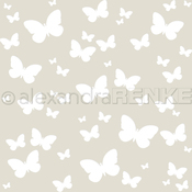 """Butterfly - Alexandra Renke Stencil 6""""X6"""""""
