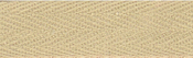 """Khaki - Products From Abroad 100% Cotton Twill Tape 1.125""""X55yd"""