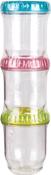 Multi-Colored Lids - ArtBin Twisterz Jar Set Small/Tall 3/Pkg