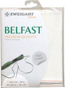 """Antique White - Zweigart Belfast Premium Quality Linen 32 Count 19""""X27"""""""