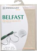 """Platinum - Zweigart Belfast Premium Quality Linen 32 Count 19""""X27"""""""