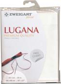 "Antique White - Zweigart Lugana Premium Quality Evenweave 25 Count 19""X27"""