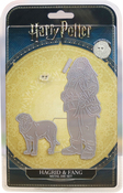 Hagrid & Fang - Harry Potter Die And Face Stamp Set