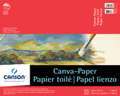 "10 Sheets - Canson Foundation Series Canva-Paper Pad 16""X20"""