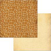 Giraffe Paper - Jungle Life - Bo Bunny