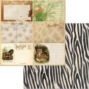 Prowl Paper - Jungle Life - Bo Bunny
