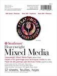 "12 Sheets - Strathmore 500 Series Heavyweight Mixed Media Pad 6""X8"""