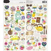 My Bright Life Gold Foil Stickers - Pebbles - PRE ORDER